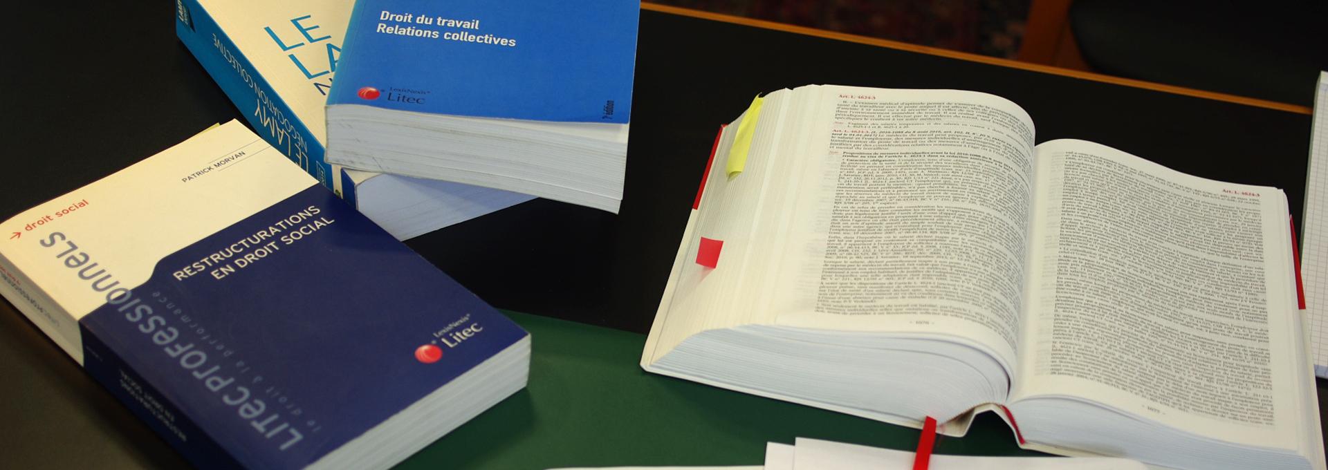 Avocats en droit du travail à Poitiers et Paris